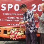 Foto : Menteri Pertanian Syahrul Yasin Limpo Melakukan Pelepasan Ekspor Produk Peternakan Olahan Unggas ke Jepang dan Timor Leste.