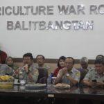 Foto: Kunjungan Menteri Pertanian Syahrul Yasin Limpo ke AWR Balitbangtan di Kampus Penelitian Pertanian, Bogor.