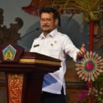 Foto: Menteri Pertanian Syahrul Yasin Limpo