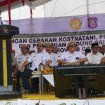Foto: Menteri Pertanian Syahrul Yasin Limpo Saat Memberikan Instruksinya di Provinsi Gorontalo