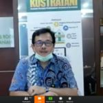 Foto : Bimbingan Teknis Karya Tulis Ilmiah Melalui Video Conference