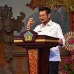 Foto : Menteri Pertanian Syahrul Yasin Limpo mendukung sepenuhnya program Provinsi Bali mencapai Satu Juta Ternak Sapi Bali