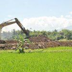 Foto : Alih Fungsi Lahan Dilakukan oleh Oknum Yang Merugikan Petani dan Negara