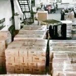 Foto : Packaging coconut charcoal yang akan di ekspor