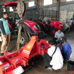Foto : Laboratorium Pengujian Alsintan Balitbangtan tetap memberikan pelayanan kepada industri Alsintan untuk diuji sebelum dirilis ke masyarakat atau petani.