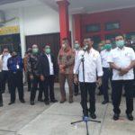 Foto : Menteri Pertanian Syahrul Yasin Limpo Bersama Kepala Staf Presiden Moeldoko saat Memantau Ketersediaan Pangan