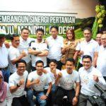 Foto : Mentan Syahrul Yasin Limpo merayakan 100 hari kerja