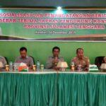 Foto: Sosialisasi dan Penandatanganan BAST Sapras Pendukung Kostratani di kantor BPTP Sulawesi Tenggara.