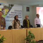 Foto : Workshop dan Seminar Knowledge Management IPDMIP