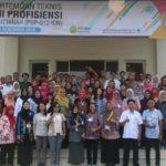 Foto: Pertemuan Teknis dalam Program Uji Profesiensi 2019 di Gedung Agrocinema, Bogor.