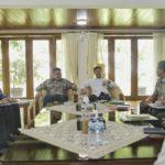 Foto : Menteri Pertanian saat menerima kunjungan Gubernur Sumsel di kediaman Menteri Jl. Widya Chandra Jakarta.