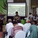 Foto : Menteri Pertanian Syahrul Yasin Limpo Saat Memberikan Arahan Untuk Menargetkan Capaian Target Tiga Kali Ekspor