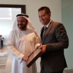 Foto : Pertukaran Dokumen Kerjasama antara Indonesia dan Persatuan Emirat Arab
