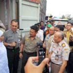 Foto : Menteri Pertanian Syahrul Yasin Limpo bersama Kepala Badan Karantina Pertanian dan Gubernur Jawa Timur memantau pelepasan ekspor