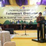 Foto: Kepala BPPSDMP, Dedi Nursyamsi, dalam Forum Komunikasi Pimpinan daerah Gorontalo.