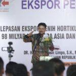 Foto: Menteri Pertanian SYL dalam Pelepasan Ekspor Benih Hortikultura.