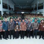 Foto : Menteri Pertanian, Syahrul Yasin Limpo Saat Memberikan Kuliah Umum di Polbangtan Medan