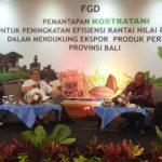 Foto: Kegiatan Focus Group Dalam Rangka Pemantapan Kostratani di Bali, Selasa (25/2)