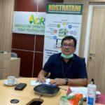 Foto : Kepala Pusat Pelatihan Pertanian, Bustanul Arifin Caya saat Memberikan Arahan Kegiatan Pertanian Tidak Boleh Berhenti