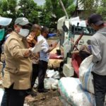 Foto : Proses Penggilingan Padi Usai Panen Raya di Kabupaten Wajo