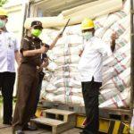 Foto : Proses Pelepasan Ekspor Komoditas Pertanian Sulawesi Utara oleh Menteri Pertanian Syahrul Yasin Limpo