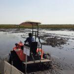 Foto : Kementan melalui Balitbangtan telah menerapkan inovasi teknologi di lahan rawan, sehingga dapat meningkatkan produktivitas dan indeks pertanaman (IP) padi 2-3 kali setahun.