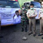 Foto : Menteri Pertanian Syahrul Yasin Limpo Saat Melakukan Pelepasan 6 Komoditas Jawa Barat untuk Diekspor.